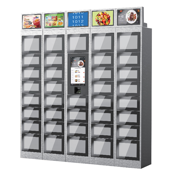 Secure and contactless food delivery & pickup locker